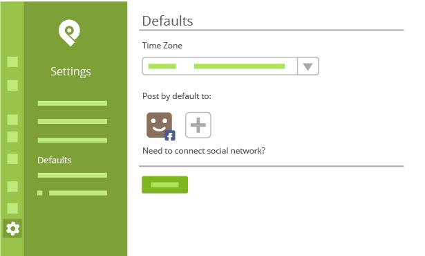 How to Setup Default Time Zones Inside Post Planner