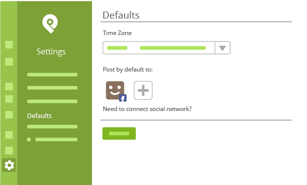 How to Setup Default Time Zones Inside Post Planner
