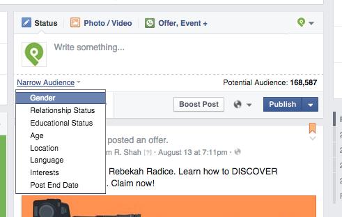Facebook Engagement Hacks: Targeting 2