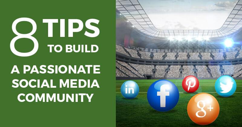 Community building as part of a social media marketing plan