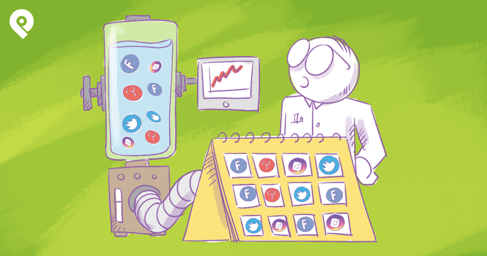 How To Quadruple Your Traffic With a Social Media Calendar
