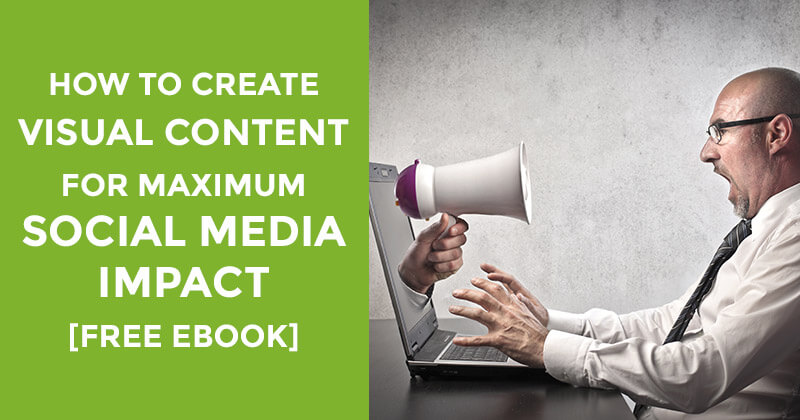 How to create visual content ebook download graphic