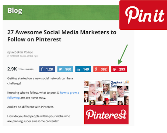 getting the most out of Pinterest (graphic)