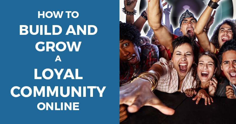 Building community online - chat graphic