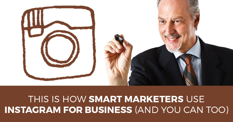 Using Instagram for business - graphic
