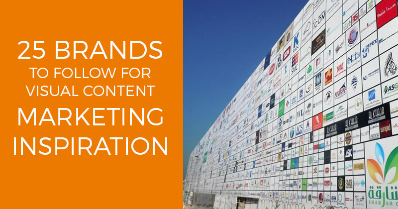 Brands for Visual Content Marketing