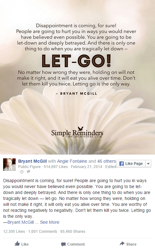 Viral Quote Ideas for Your Facebook Page - 13