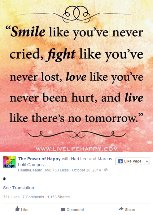 Viral Quote Ideas for Your Facebook Page - 22