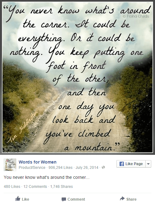 Viral Quote Ideas for Your Facebook Page - 26