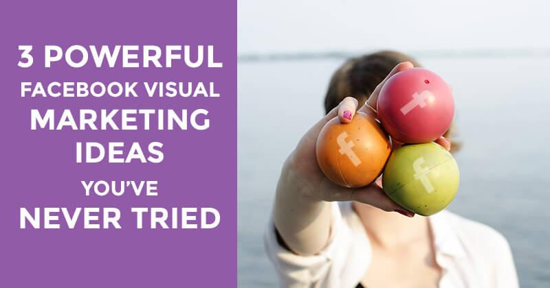 Visual marketing ideas (graphic)