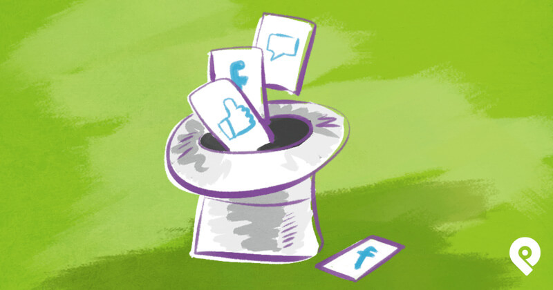 5 Quick and Easy Facebook Engagement Hacks  - graphic
