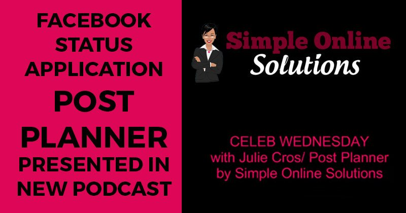 Facebook_status_application_Post_Planner_presented_in_new_podcast