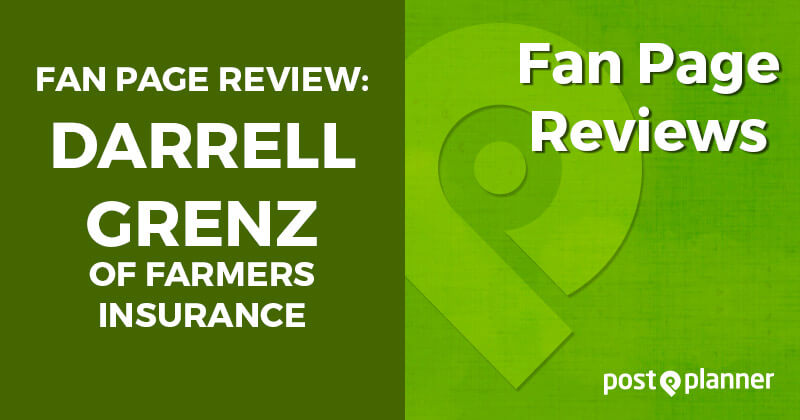 Fan Page Review: Darrell Grenz of Farmers Insurance