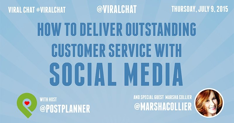 Customer Service with Social Media (graphic)