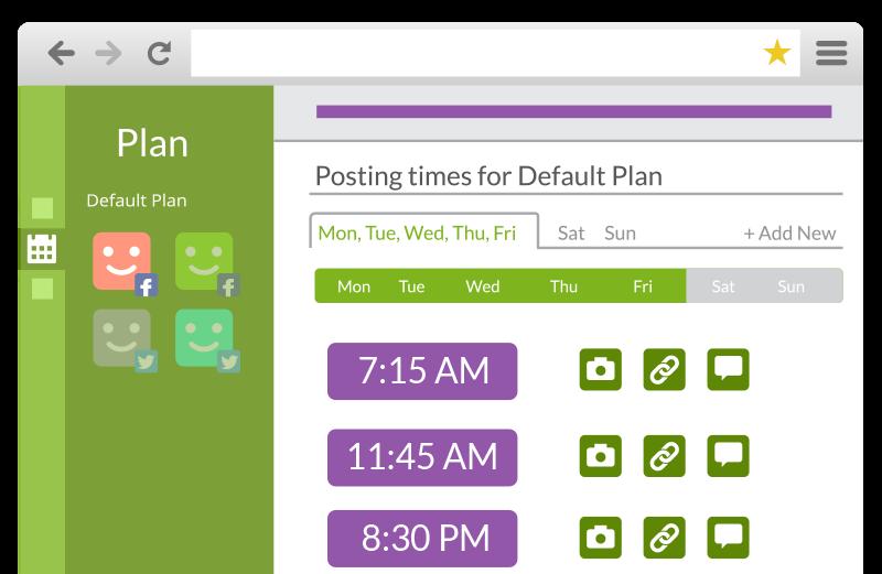 Post Planner - Plan
